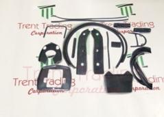 Lambretta Complete rubber kit Black