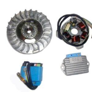 Flywheel Magnet Rotor 12V Electronic Kit Lambretta LI TV Series 1 2